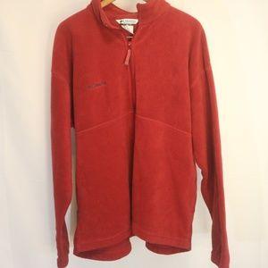 Columbia Men's  XXL Fleece 1/4 Zip Pullover Jacket